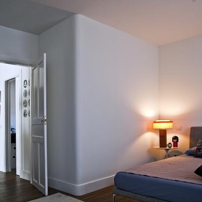 La reforma de una vivienda diferente y de estilo retro