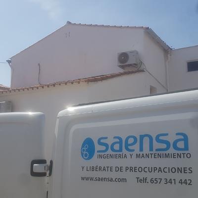 Instalación de 3 equipos de aire acondicionado