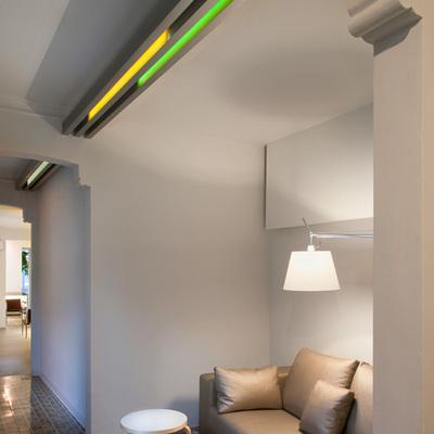 Una casa modernista donde vivir y trabajar