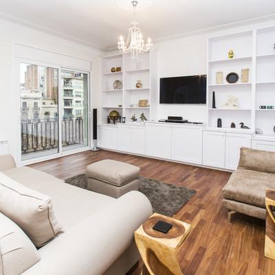 Un apartamento de estilo clásico que saca partido a 'su pasado'
