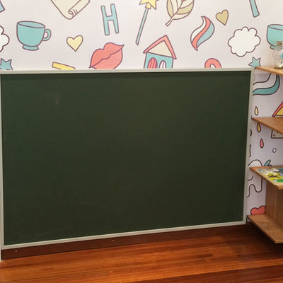 Sala de espera infantil. Pizarra.
