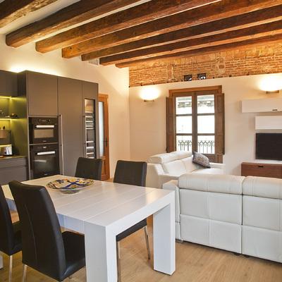 Reforma de una vivienda en Ciutat Vella  (Barcelona)