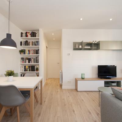 Un piso de 50 m2 que parecen muchos más