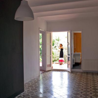 Sala de estar hacia terraza