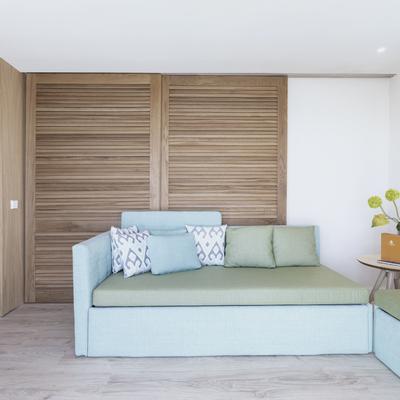 Sala de estar suite Palmasol