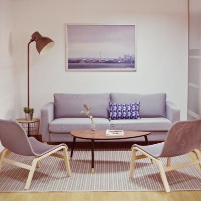 Unas oficinas con aire de hogar