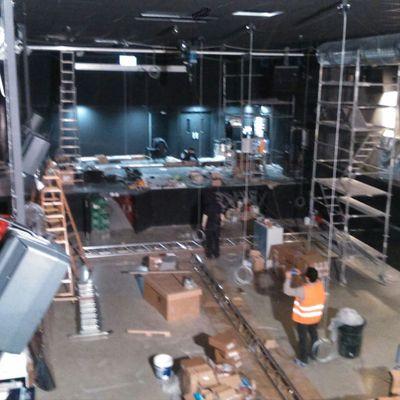 Limpieza de termino de obras. Café Zentral Pamplona.