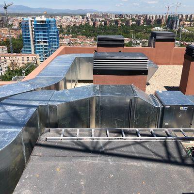 Extracción garaje urbanización Atalayas