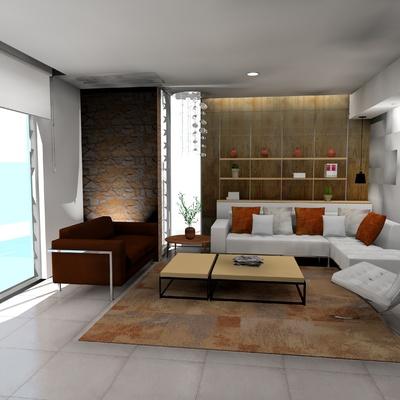 Proyecto integral diseño de interiores y exterior vivienda unifamiliar