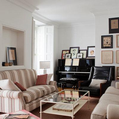 Una casa clásica pero no aburrida