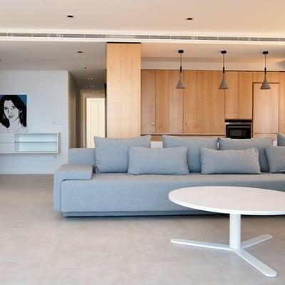 Reforma de un piso con buenas vistas