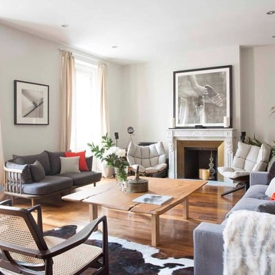 Una vivienda que consigue una 'mezcla perfecta'