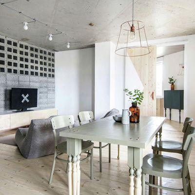 10 ideas para utilizar el hormigón visto en el interior de tu casa