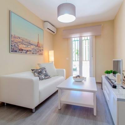 La nueva cara de un acogedor apartamento en Madrid