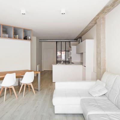 Una antigua oficina convertida en vivienda