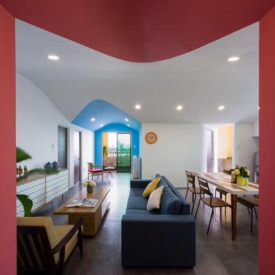 Una casa para vivir a todo color