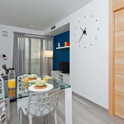 Edificio de apartamentos turísticos en la Sagrada Família