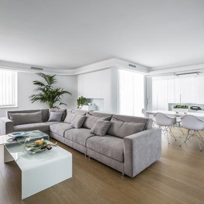 Una vivienda al más puro estilo Total White