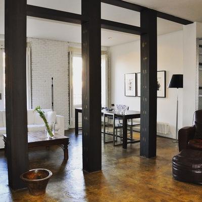 Un loft de estilo neoyorquino en el centro de Madrid