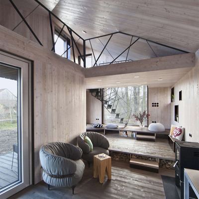 5 casas que apostaron por decorar con madera... y triunfaron