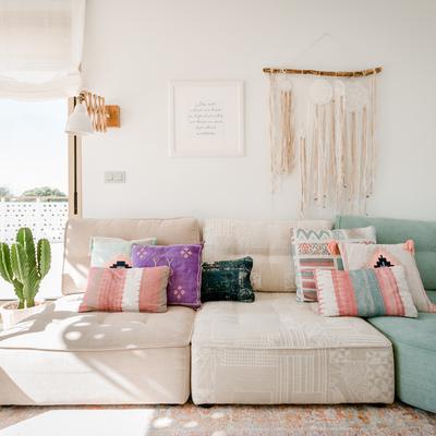Vivienda decorada con espacios pensados para vivirlos en familia
