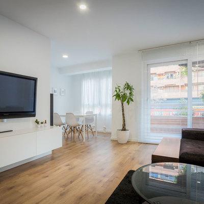 Apartamento de estilo moderno