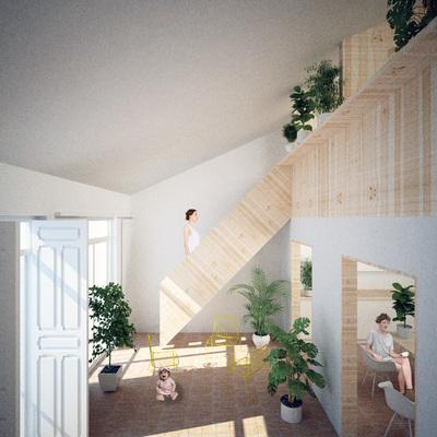 Proyecto de vivienda en Cuatro Caminos, Madrid