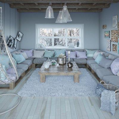 9 estancias grises que son de todo menos aburridas