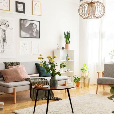 9 Trucos para conseguir un salón más luminoso