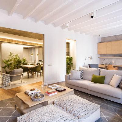 Una casa urban chic para pasar las vacaciones perfectas