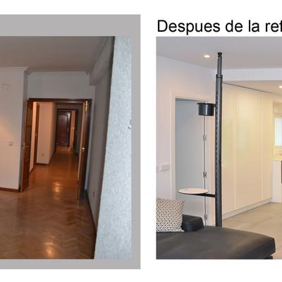 Reforma integral vivienda de 125 m2 tipo loft
