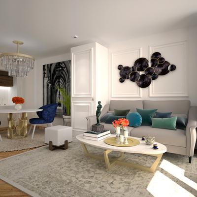 Interiorismo en Apartamento de 28 m² en Valdecederas, Madrid