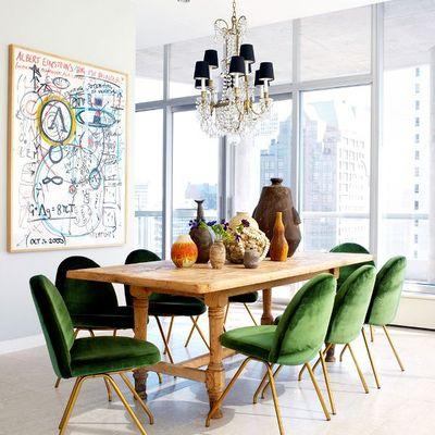 Cómo decorar tu casa en tonos verdes