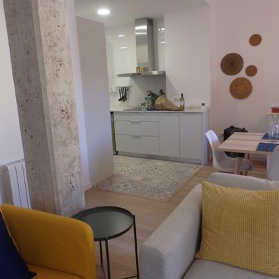 Una vivienda reformada en el centro de Valencia