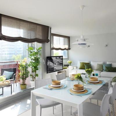 Un piso de 95 m2 acogedor y muy luminoso