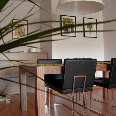 Proyecto y Dirección de decoración de vivienda para tres personas.