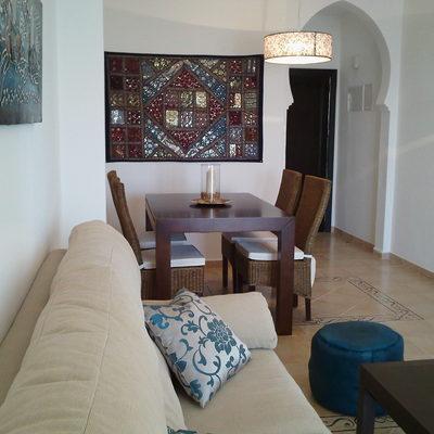 Proyecto de  muebles y decoración de una  vivienda de 2 dormitorios