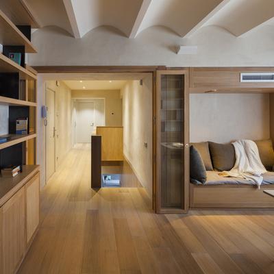 Dos apartamentos convertidos en un gran dúplex