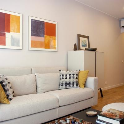 Un apartamento minimalista y acogedor