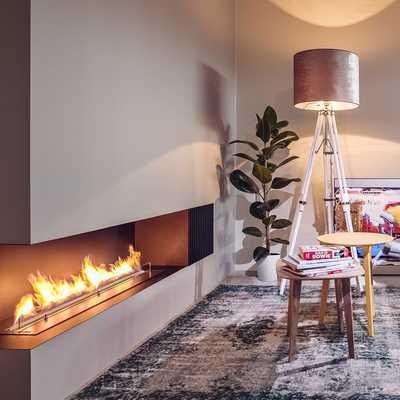 5 ideas para introducir una chimenea en tu piso