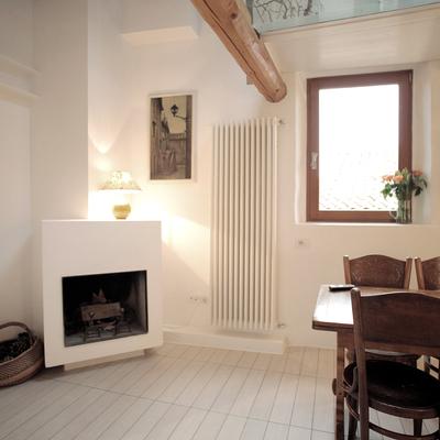 salón con chimenea personalizada