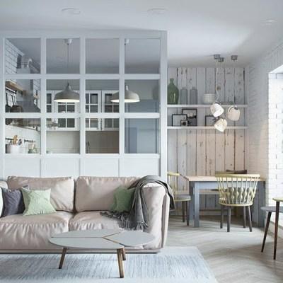 Una pequeña casa perfectamente aprovechada