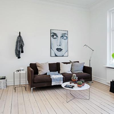 Apartamento pequeño y bien distribuido