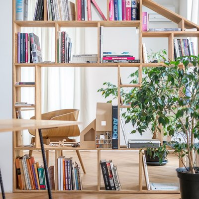 Un estudio casi hogar