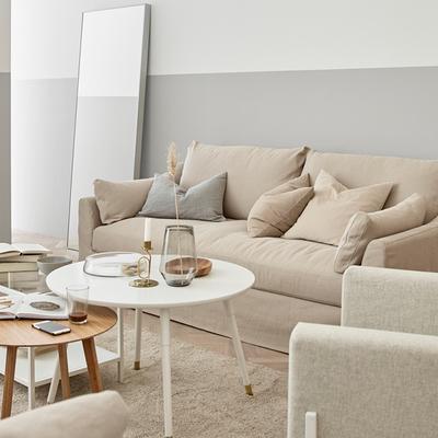 Salón con sofá FARLOV de IKEA.es