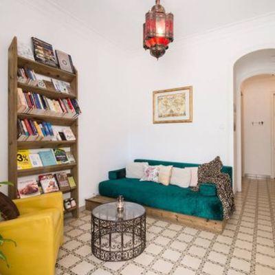 Apartamento DIY con huerto vertical en Barcelona