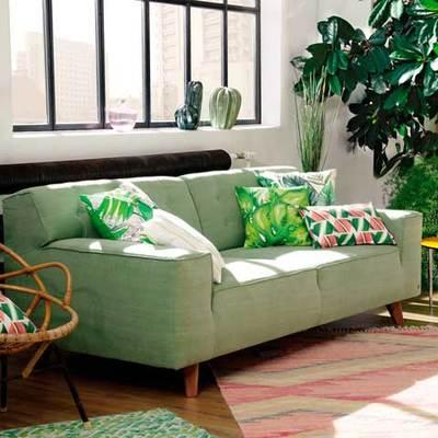 salón de estilo tropical