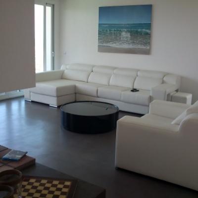 Salon de la villa de 500 m2