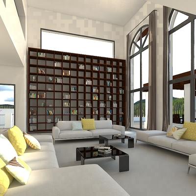 Salón en vivienda en benahavis
