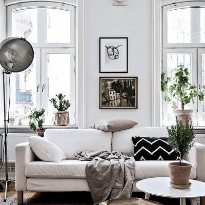 Salón escandinavo